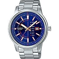 Đồng hồ Nam Casio MTP-E128D-2AVDF Dây Kim Loại - Mặt Màu xanh Đồng hồ Nam Casio MTP-E128D-2AVDF Dây Kim Loại - Mặt Màu xanh thumbnail