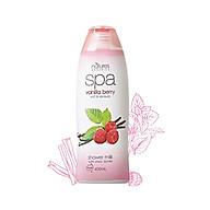 Sữa tắm tẩy tế bào chết hương quả mọng ngăn lão hóa SPA vanilla berry 400ml thumbnail