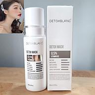 Mặt Nạ Thải Độc Trắng Da Ngừa Mụn Nám Detox BlanC Detox Mask (mẫu mới) + Tặng kèm Kẹp tóc Ngọc Trai hot trend thumbnail