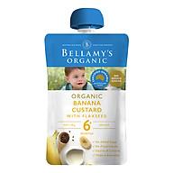 Hỗn Hợp Kem Sữa Chuối Với Hạt Lanh Hữu Cơ Bellamy s Organic (120g) thumbnail