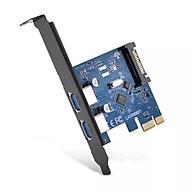 Card PCI Express sang 2 cổng TYPE C 3.1 Cao Cấp Ugreen 230HL30773US Hàng chính hãng thumbnail