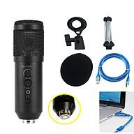 Microphone Thu Âm Live Stream MK-F500USB Kết Nối Qua Cổng USB Cao Cấp AZONE thumbnail