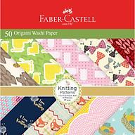 Giấy nghệ thuật origami washi nhật bản Faber 171515 thumbnail