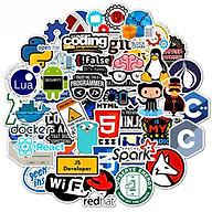 Bộ 50 Sticker Coder, Lập trình viên, IT - Hàng nhập khẩu thumbnail
