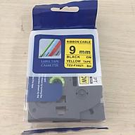 Nhãn TZ2-FX631 siêu dẻo - Chữ đen trên nền vàng 9mm - Hàng nhập khẩu thumbnail