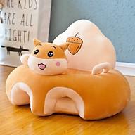 Ghế tập ngồi cho bé hình thú Giúp Nâng Cột Sống Có Tựa Đầu- Hàng Nhập Khẩu- Loại 1 TẶNG GỐI ĐẦU CHO BÉ thumbnail