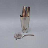 Bộ pha chế Shaker Inox 2 mảnh và chặn đá Inox thumbnail