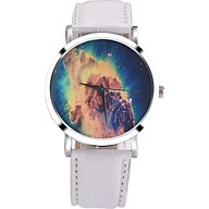 Đồng Hồ Nữ Quartz Dây Da PU Họa Tiết Nebula thumbnail