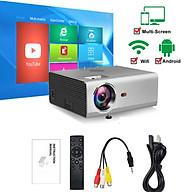 [Hỗ Trợ Tiếng Việt] Máy Chiếu Mini RD-825 HĐH Android 6.0 RAM 1Gb ROM 8Gb Độ Phân Giải Full HD 1080p Kết Nối Wifi, Bluetooth 4.0 Hỗ Trợ Các Giao Tiếp USB HDMI AV VGA Audio 3.5mm thumbnail