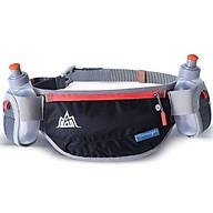 Túi đai đeo bụng hông chạy bộ kèm 2 bình nước thumbnail