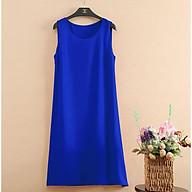 Đầm bầu thời trang màu xanh DN19072808 thumbnail