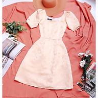 Đầm dự tiệc chất gấm cao cấp siêu sang trọng, lót cotton mềm mát thumbnail