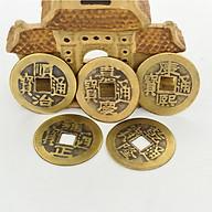 Combo 15 Đồng Tiền Xu Cổ Phong Thuỷ Trong Bộ Xu Ngũ Đế thumbnail