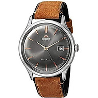 Orient Bambino Version IV Japanese Automatic Stainless Steel and Leather Dress Watch thumbnail