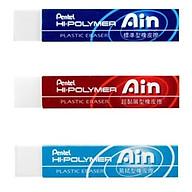 Tẩy Chì Pentel AIN Hipolymer Thân Dài - ZETH_07E ZETL_07E ZETS_07E thumbnail
