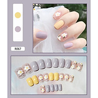 Bộ 24 móng tay giả nail thơi trang (như hình-R-067) thumbnail