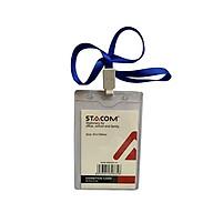 Thẻ đeo nhựa dẻo khổ lớn STACOM - PVC91128 thumbnail
