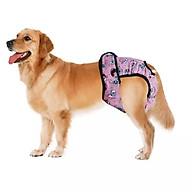Quần lót sinh lý cho chó cái đến kỳ kinh nguyệt Xudapet - XDP01QLSL (màu hồng) thumbnail