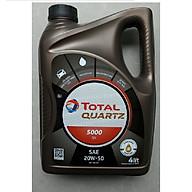 Nhớt Xe Ô Tô Total Quartz 5000 Sae 20W50 (4L) thumbnail