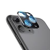 Bộ miếng dán kính cường lực & khung viền kim loại bảo vệ Camera cho iPhone 11 Pro 11 Pro Max Leeu Design _ Hàng Nhập Khẩu thumbnail