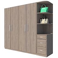 Tủ quần áo Cao Cấp Hàn Quốc alala.vn - Thương hiệu alala.vn (2m2 x 2m) thumbnail