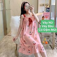 Váy nữ váy bầu 2 dây có đệm mút MÙA HÈ cực kì thoải mái thumbnail