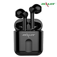 Tai nghe bluetooth Zealot không dây nhét tai, tai phone bluetooth thể thao tương thích hầu hết các thiết bị điện thoại samsung, iphone, xiaomi, oppo... laptop tặng kèm 1 móc khóa chữ Bamboo thumbnail
