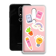 Ốp lưng dẻo cho điện thoại Nokia 6.1 plus X6 - 01171 0515 FUNNY04 - Hàng Chính Hãng thumbnail