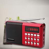 Loa Nghe Nhạc Mini Kiêm Đài Radio FM KK59 Hỗ Trợ Thẻ Nhớ, Jack 3.5 Thiếtb Kế Nhỏ Gọn Tiện Lợi thumbnail
