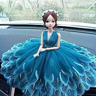 Búp bê trang trí xe hơi, Búp bê công chúa cao cấp tuyệt đẹp váy khổng tước và phục trang lộng lẫy trang trí xe hơi, phòng khách ,tủ chè .v.v.. (màu ngẫu nhiên) thumbnail