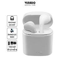 Tai nghe bluetooth không dây TWS i7s ngon bổ rẻ nghe 2 tai hàng nhập khẩu Venado thumbnail
