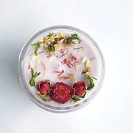 Nến thơm tinh dầu Lavender 100g, giúp thư giãn, thơm phòng, khử mùi, Essential Oil Candle thumbnail