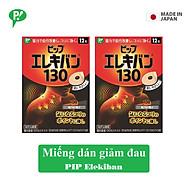 Combo 2 hộp miếng dán giảm đau Pip Elekiban 130mT cải thiện tuần hoàn máu hàng chính hãng thumbnail