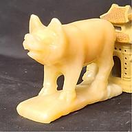 Tượng Phong Thuỷ Tuổi Hợi - Lợn - Heo 12 Con Giáp Đá Ngọc Hoàng Long - 8cm - Mx - Hợp Mệnh Thổ, Kim thumbnail