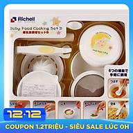 Bộ Chế Biến Thức Ăn Dặm Kiểu Nhật Richell - RC53371 thumbnail
