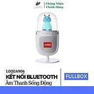 Loa Bluetooth Để Bàn Trang Trí LANITH A906 - L000A906 - Tặng Kèm Cáp Sạc 3 Đầu - Âm Thanh Đỉnh Cao, Bass Trầm Mạnh Mẽ - Đèn Led Nhiều Màu Dễ Thương - Hỗ Trợ Thẻ Nhớ, USB, Jack 3.5 - Pin Tích Hợp - Hàng Nhập Khẩu thumbnail