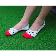Tất vớ Nữ cao cấp, nhập khẩu Hàn Quốc thương hiệu KIKIYA SOCKS - Vivid Dot W-N-003 thumbnail