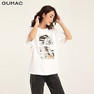 Áo thun in cô gái GUMAC ATB1160 thumbnail