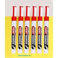 Hộp 6 cây bút sơn Baoke - MP560 màu đỏ thumbnail