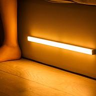 Đèn cảm ứng gắn cầu thang, tủ đồ, toilet, tự động bật tắt ánh sáng, sạc bằng USB tiện dụng - 30cm - Ánh sáng vàng thumbnail