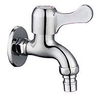 Vòi nước gắn tường, vòi xả chậu, vòi máy giặt Inox 304 thumbnail