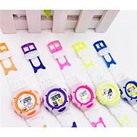 Đồng hồ điện tử trẻ em TIME CLUE Sport lte2 dây silicon,hình ảnh hoạt hình ngộ nghĩnh,hiển thị thời gian và ngày tháng. thumbnail