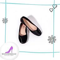 Giày Búp Bê Thời Trang Nữ Công Sở Da Thật Mũi Vuông Size 35 39. Phù Hợp Đi Chơi Dạo Phố 4 màu Đen Đỏ Kem Xanh thumbnail