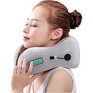 Gối ngủ massage pin sạc hình chữ U tạo nhiệt trị đau mỏi cổ YJ818 - Dòng cao cấp - Nhiều màu, giao ngẫu nhiên thumbnail