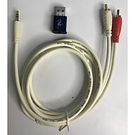 USB Bluetooth 5.0 ,DÂY 3.5 RA AUDIO CHUYỂN LOA THƯỜNG THÀNH LOA BLUETOOTH thumbnail