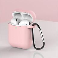 Vỏ đựng ốp case airpods airpod bảo vệ tai nghe không dây bluetooth 1 2 Pro - chống va đập, bám bụi ốp màu thumbnail