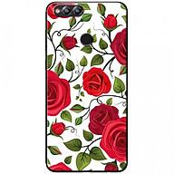 Ốp lưng dành cho Honor 7X mẫu Bụi hoa hồng đỏ trắng thumbnail