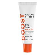 Tinh Chất Hỗ Trợ Điều Trị Nám Và Đốm Nâu 25% Vitamin C Paula s Choice Resist 25% Vitamin C Spot Treatment C25 Super Booster (5ml) thumbnail