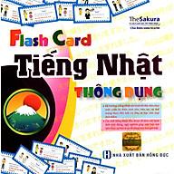 Flashcard Tiếng Nhật Thông Dụng - Tủ Sách Học Tốt Tiếng Nhật ( Tặng Kèm Bút Hoạt Hình Ngộ Nghĩnh ) thumbnail