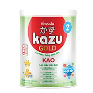 [Tinh tuý dưỡng chất Nhật Bản] Sữa bột KAZU KAO GOLD 350g 2+ (trên 24 tháng) thumbnail